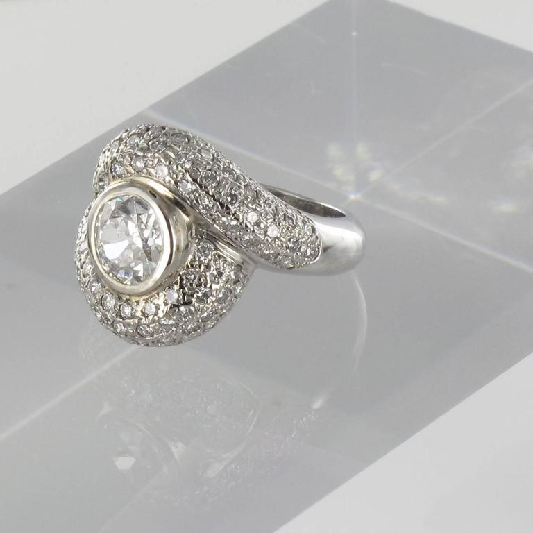 vintage en white gold diamond ring goldberg with rings carat ca diam