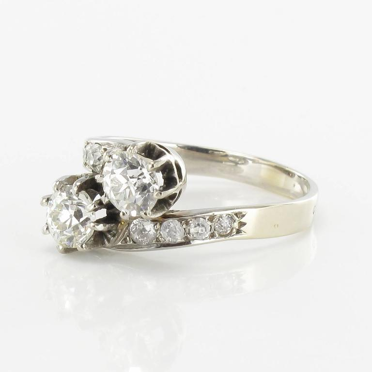 Antique Diamond Gold Lover s Ring For Sale at 1stdibs