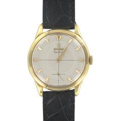 1960s Omega 18 Karat Gold Men's Watch