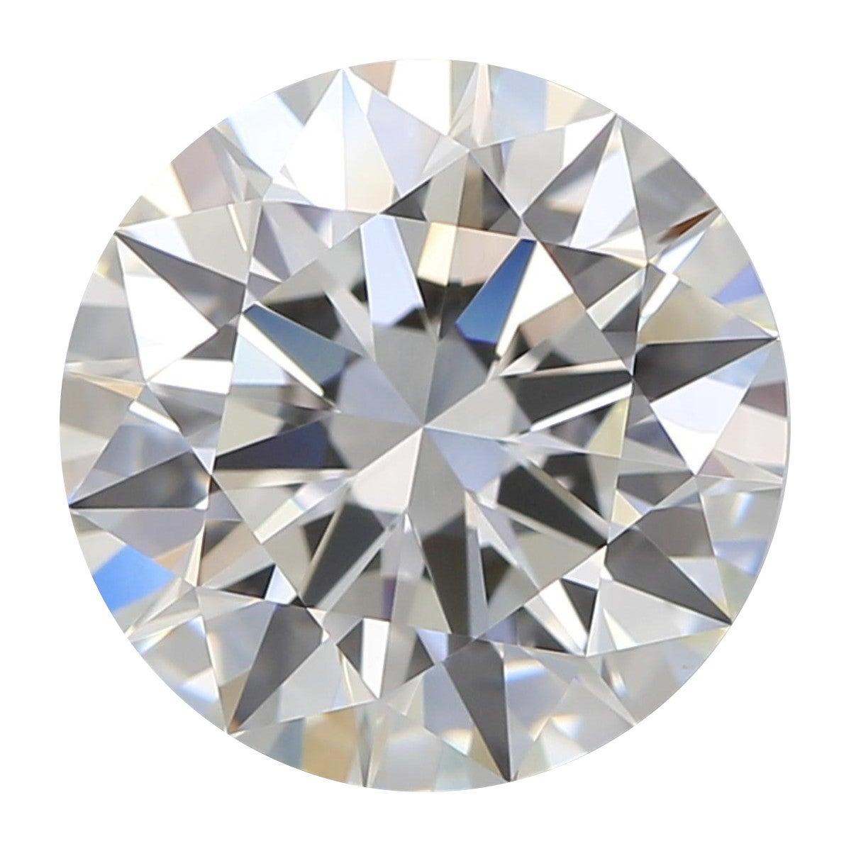 HRD Certified F.VS1 1.02 Carat Brillant Cut Diamond