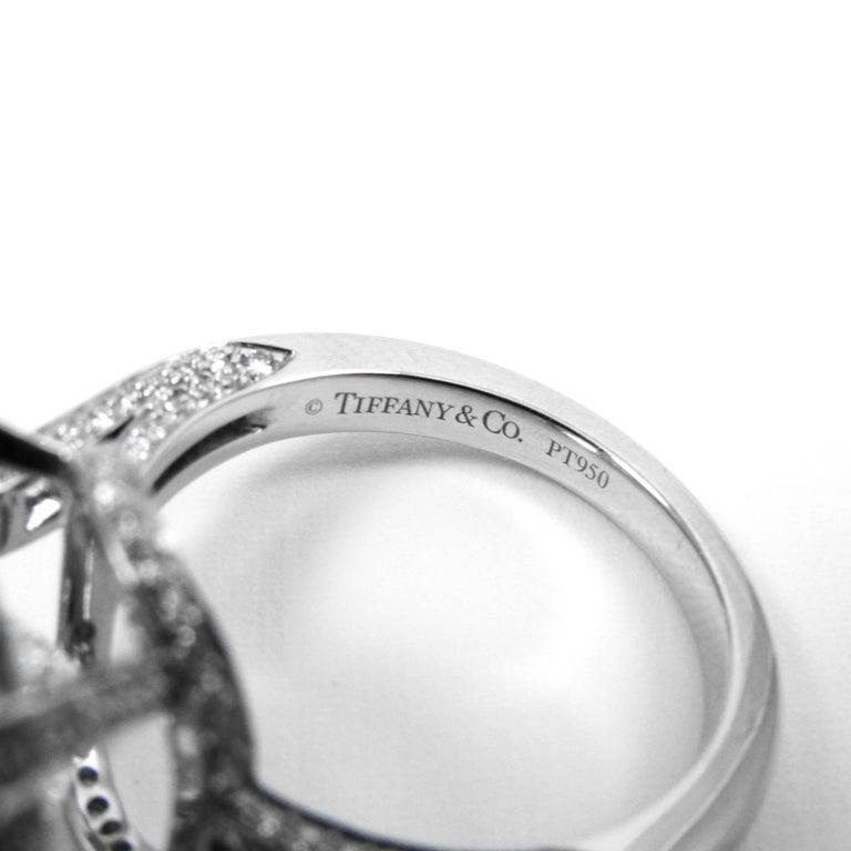 Tiffany & Co. GIA  17.06 Ct D Internally Flawless Type IIA Cushion Diamond Ring For Sale 3