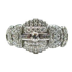Diamond Statement Bracelet