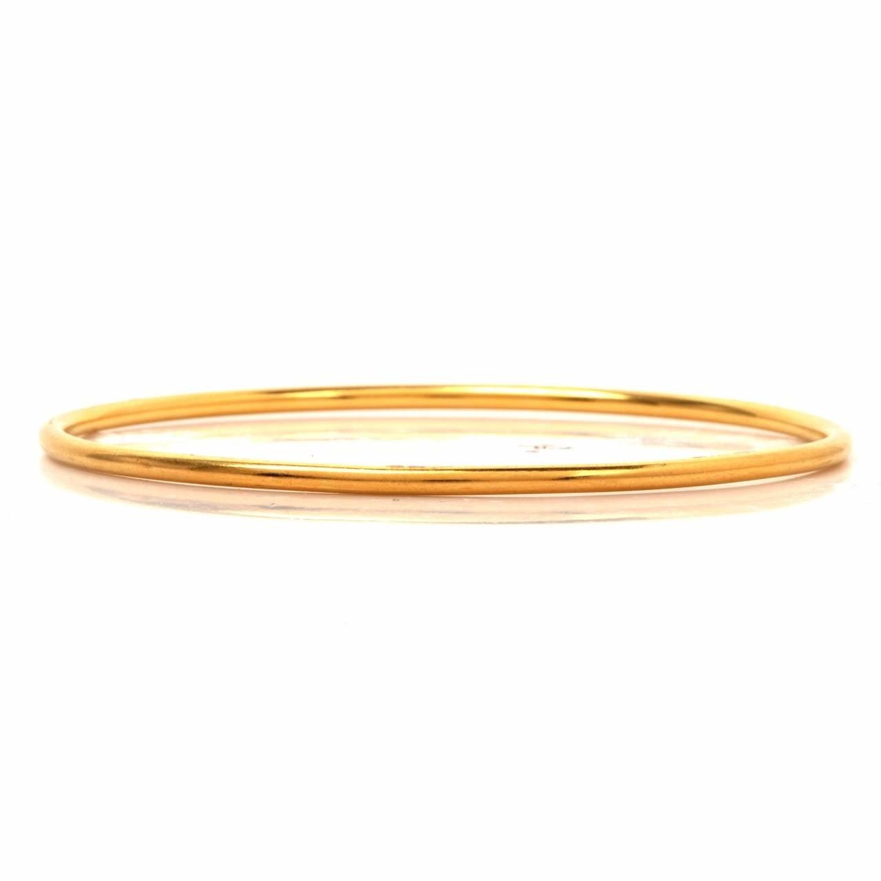 Stackable Gold Bangle Bracelets Set of 12 5