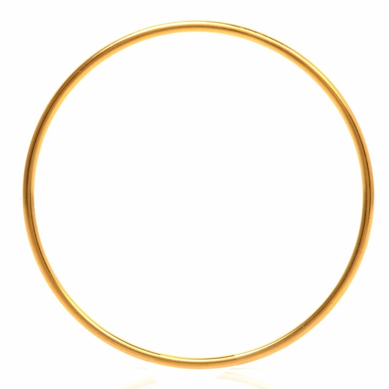 Stackable Gold Bangle Bracelets Set of 12 4