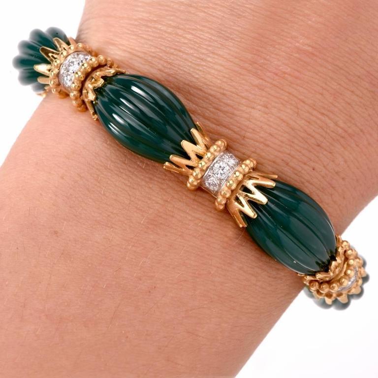 1970s Van Cleef And Arpels Vca Paris Green Chrysophrase. Purchase Beads Online. Lapis Lazuli Gold Jewellery. Anklet Symbolism. Interlocking Wedding Rings. Delicate Gold Necklace. Smoky Quartz Pendant. Inspirational Bracelet. Ring Lockets