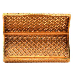 Van Cleef & Arpels Textured Gold Box