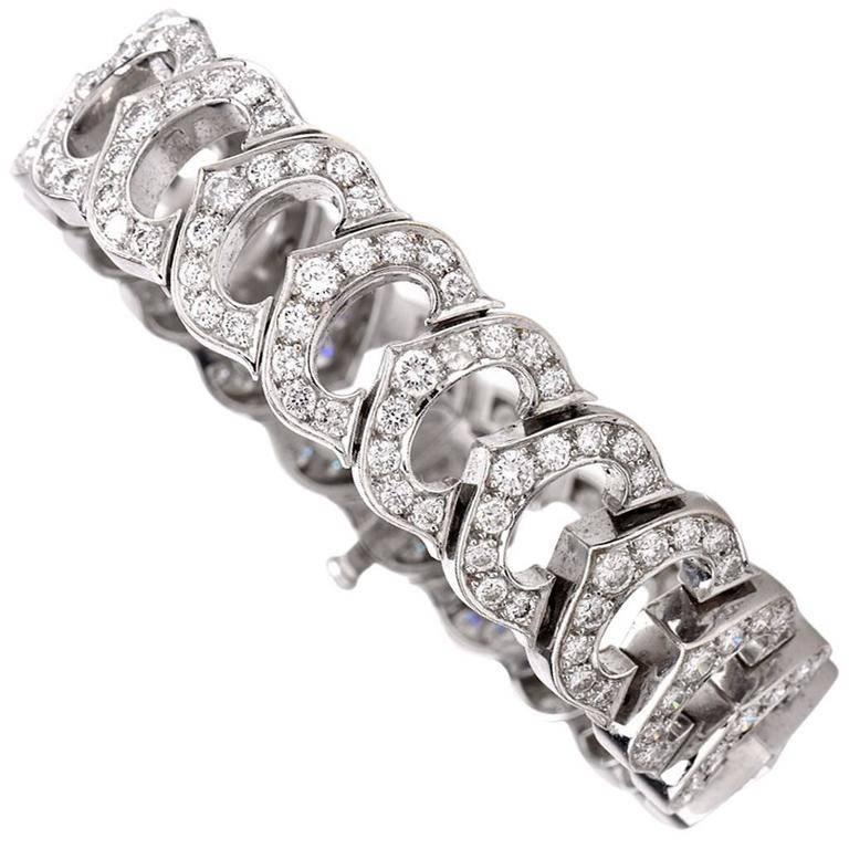 Cartier C De French Diamond