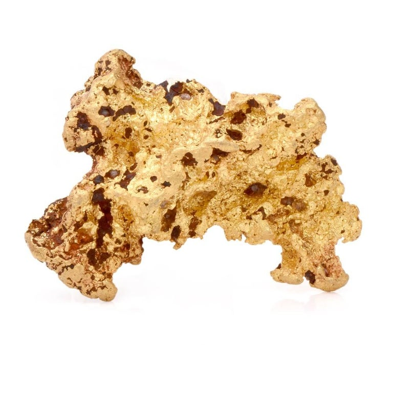 Earth Rare Pure Natural Gold Large Nugget 82.129 Grams