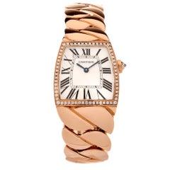 Cartier Ladies Rose Gold Diamond La Dona Wristwatch