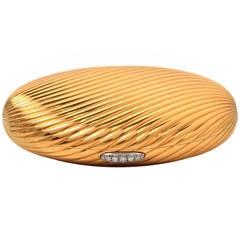 Bulgari Diamond Gold Compact Box
