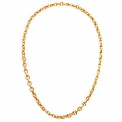 Tiffany & Co. Yellow Gold Chain Necklace