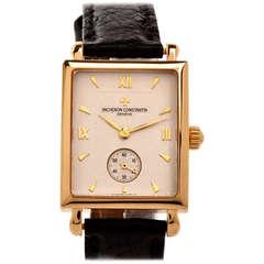 Vacheron Constantin Yellow Gold Les Historiques Wristwatch