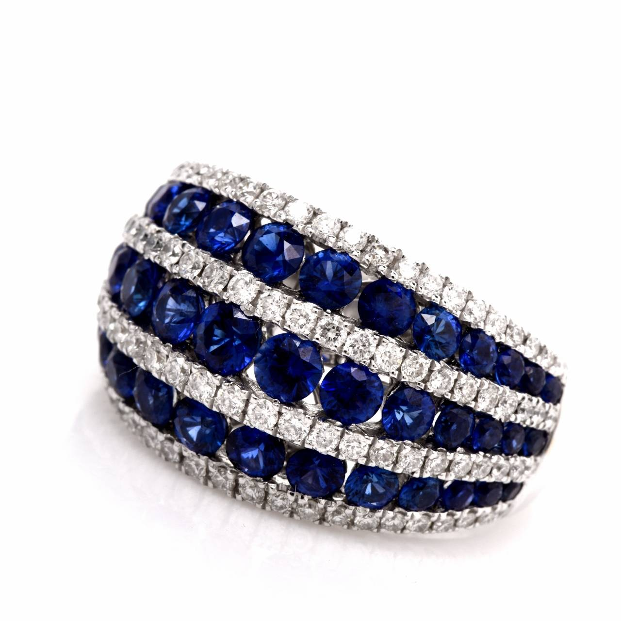 and rings ruth naples gregg diamond sapphire ring ii