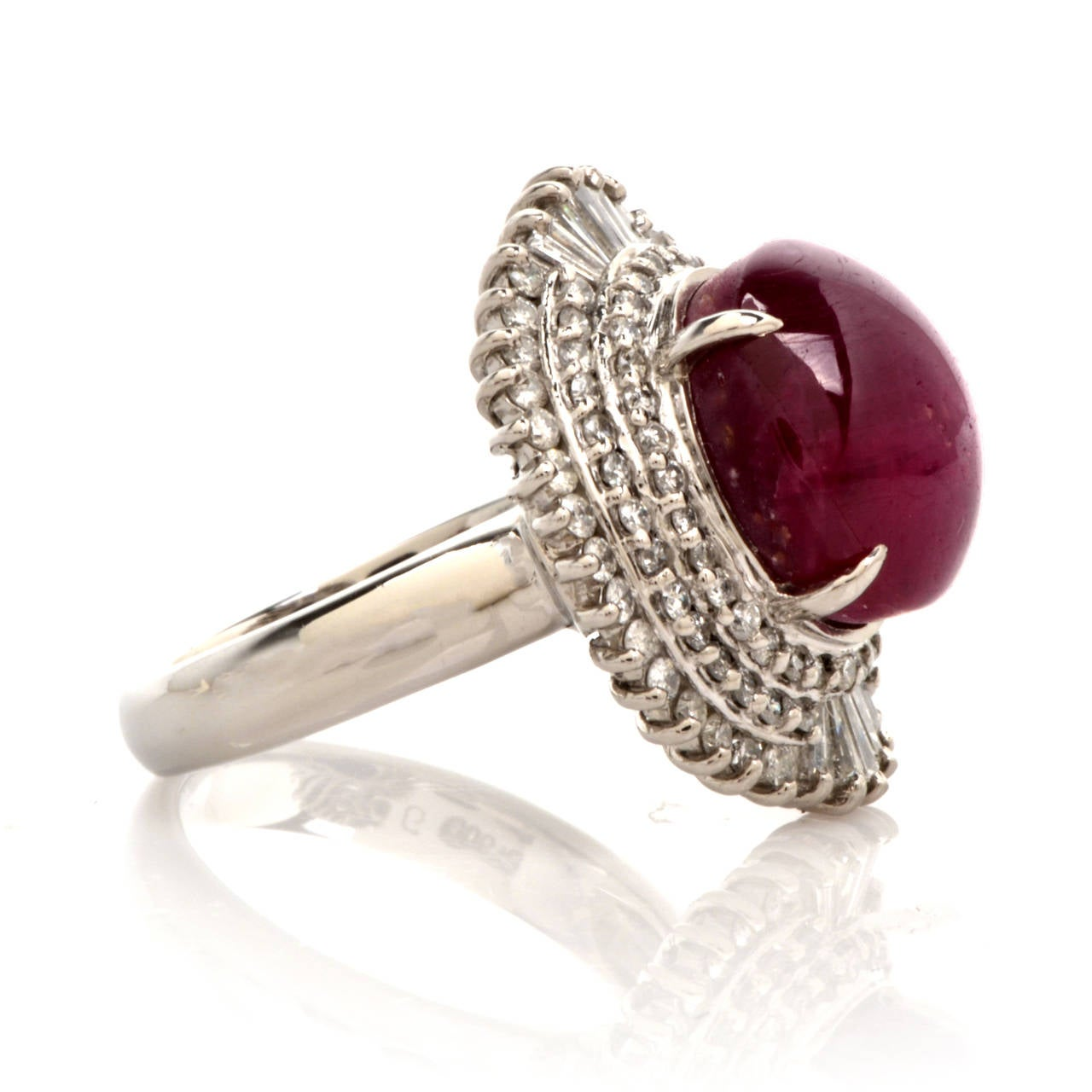 Ruby Cocktail Ring 62