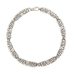 Silver and Gold John Atencio Necklace