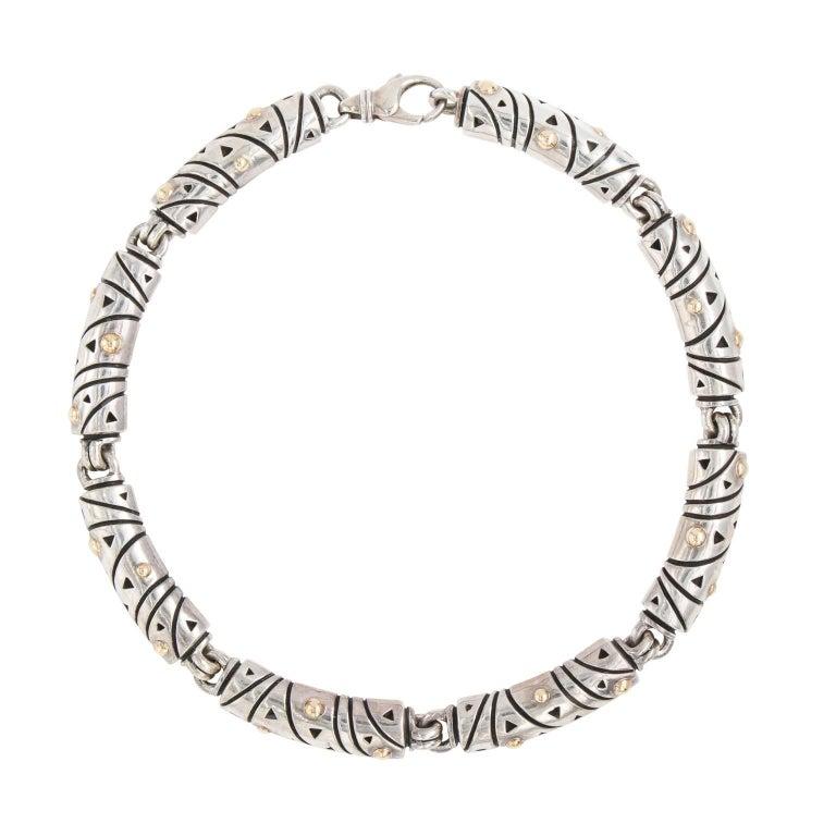 Silver and Gold John Atencio Necklace
