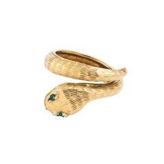 Midcentury Snake Ring