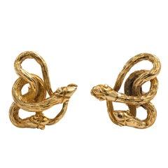 Victorian Serpent Earrings
