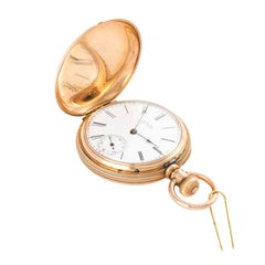 14 Karat Gold Pocket Watch