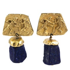 Gold and Lapis Earnings