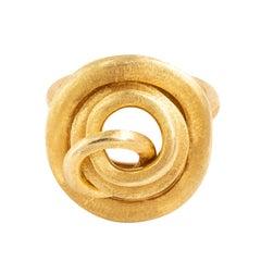 Marco Bicego Jaipur 18 Karat Yellow Gold Link Ring