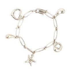"Tiffany & Co. ""Elsa Peretti"" Charm Bracelet"