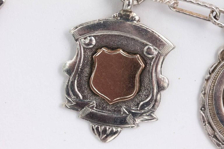 Sterling Medal Necklace For Sale 1