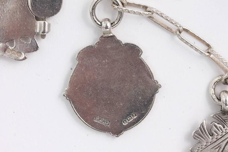 Sterling Medal Necklace For Sale 5