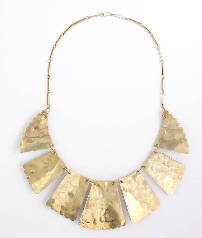 1920s Persian Bib Necklace 2