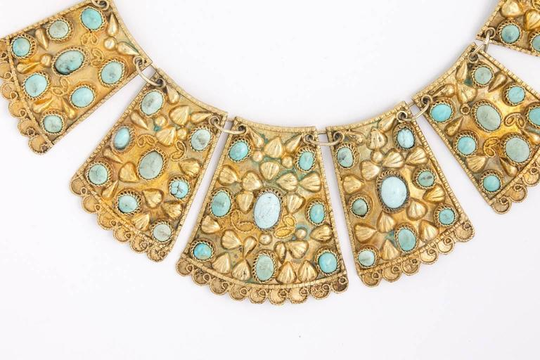 1920s Persian Bib Necklace 6