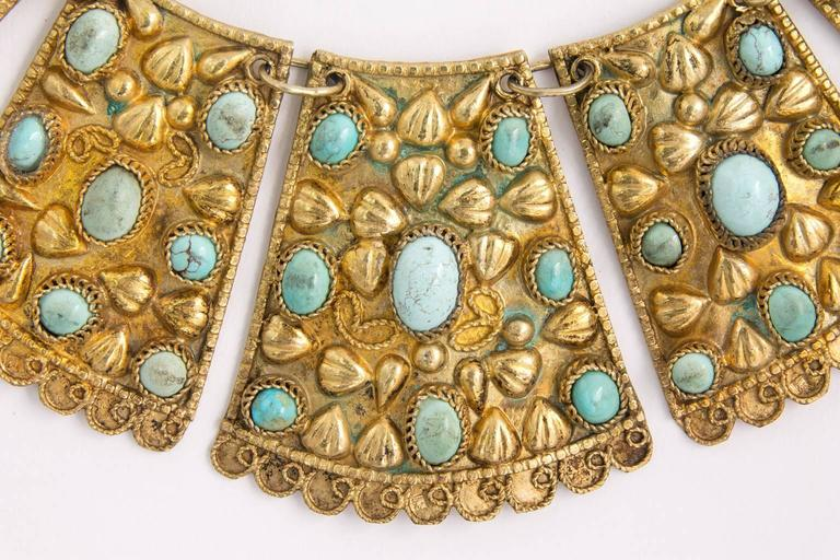 1920s Persian Bib Necklace 7