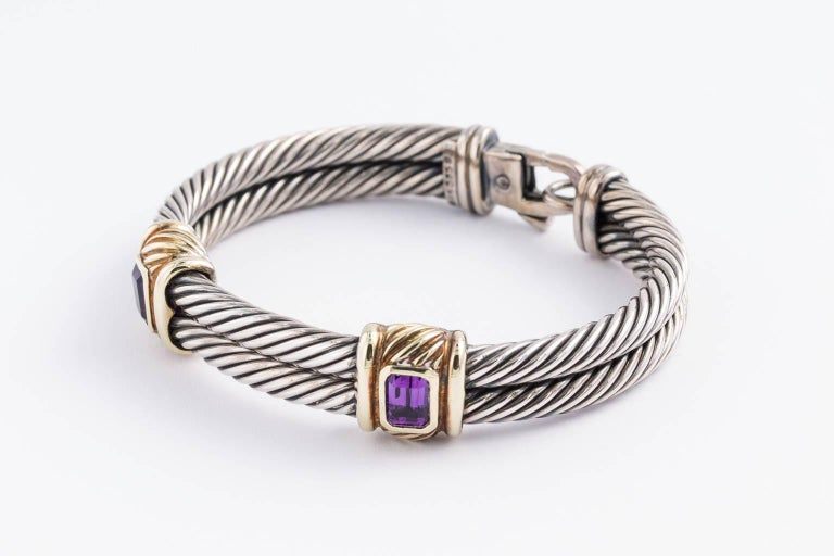 David Yurman Cable Bracelet At 1stdibs