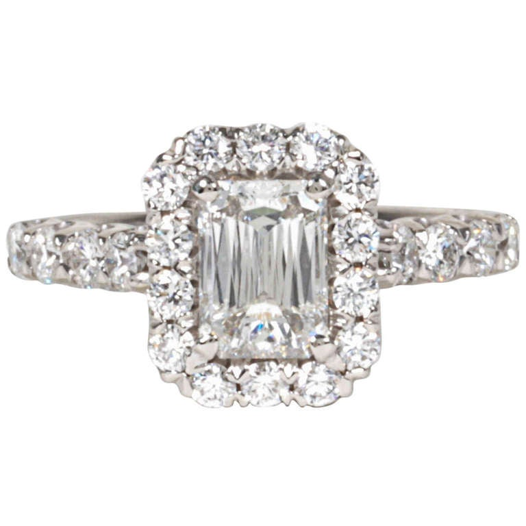 unique christopher designs criss cut emerald cut