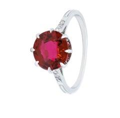 Van Cleef & Arpels Burma 3.22 Carat Ruby Ring