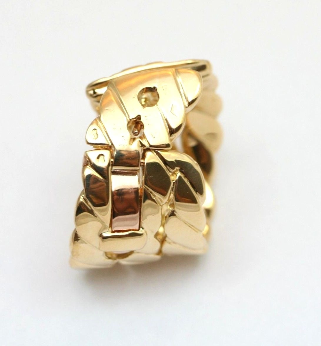 M.Gerard Paris Diamond Gold Ear Clips 2