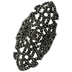 Repossi Maure Black Diamond Gold Ring