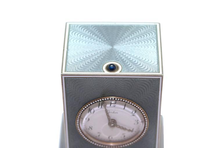 Cartier Edwardian Minute Repeater Boudoir Clock 2