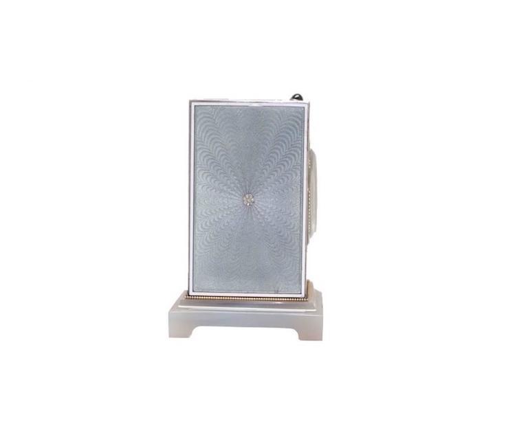 Cartier Edwardian Minute Repeater Boudoir Clock 3