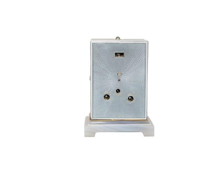 Cartier Edwardian Minute Repeater Boudoir Clock 4