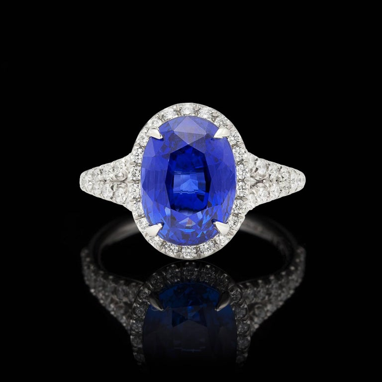 half range ring engagement lab bezel created solitaire sapphire blue color products by dsc nodeform round