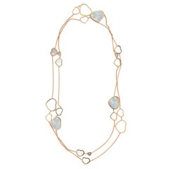 Chopard Happy Diamonds Mother-of-Pearl Heart Necklace