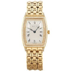 Breguet Lady's Yellow Gold Diamond Wristwatch