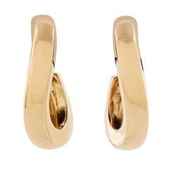 Chaumet Gold Waltz Earrings