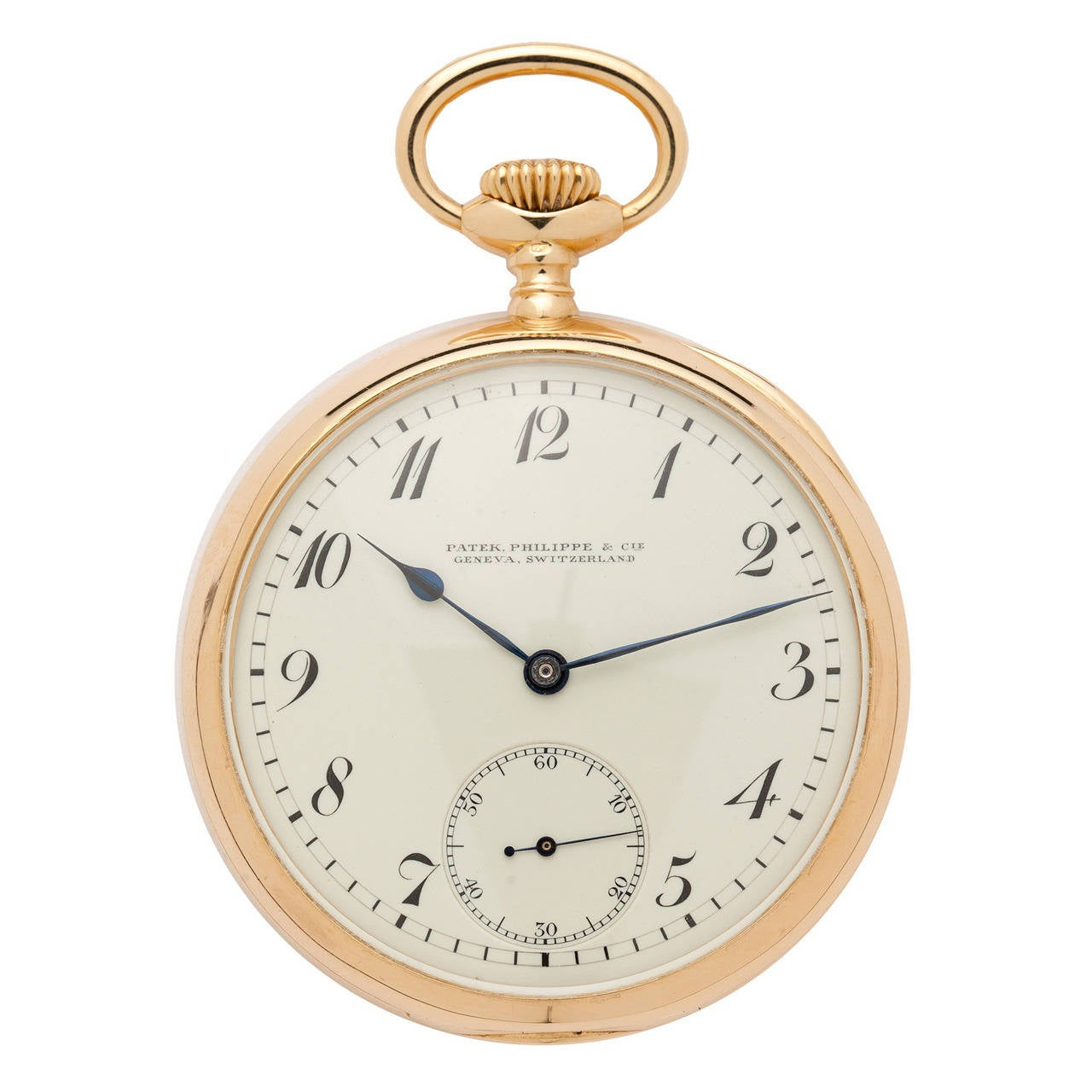 8b5e73e196a Patek Philippe Yellow Gold Pocket Watch Retailed by Shreve Crump   Low For  Sale