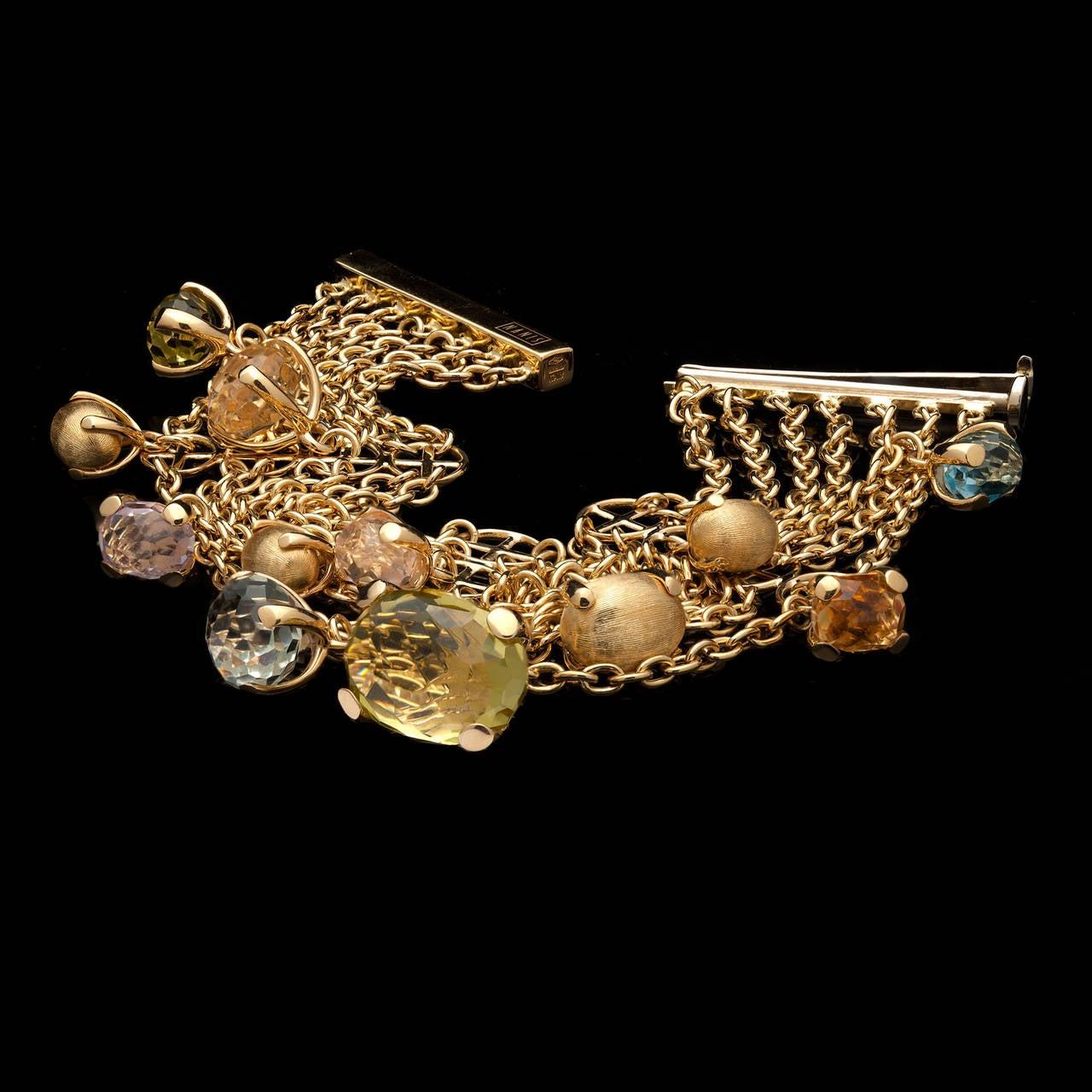 nanis bonbon mulit gemstone bracelet at 1stdibs
