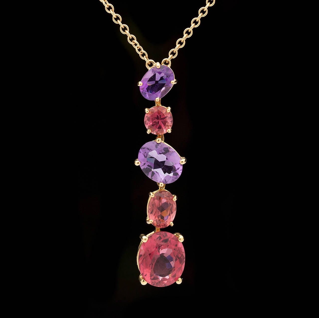 Asprey Chaos Colored Stone Necklace At 1stdibs