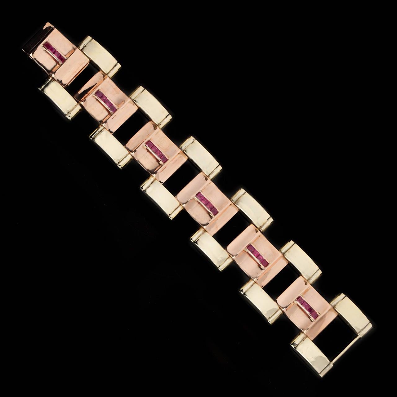 Saks Fifth Avenue Oversized Link Bracelet at 1stdibs