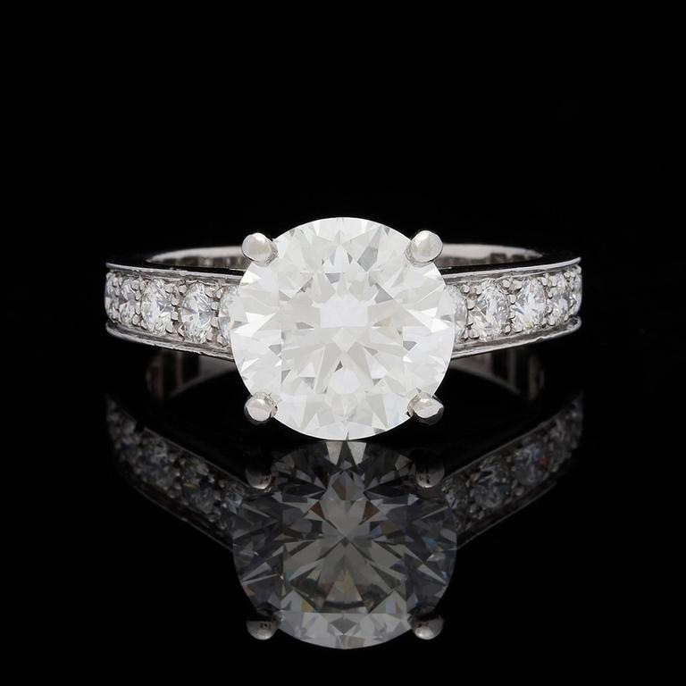 cartier 1895 241 carat gia certified diamond platinum