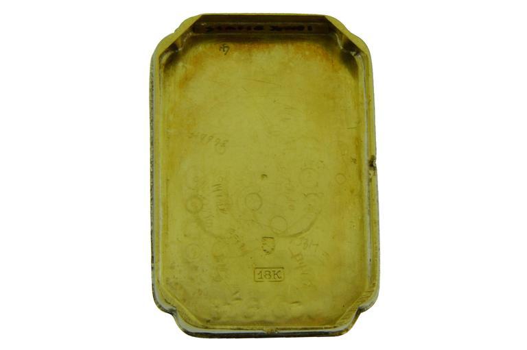 Tiffany & Co. Yellow Gold Manual Wind Wristwatch 5
