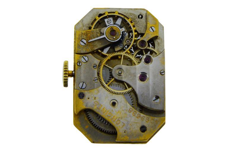 Tiffany & Co. Yellow Gold Manual Wind Wristwatch 6